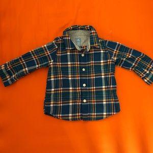 Gap boy's 18-24 month button down shirt